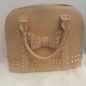 Handbag with gems